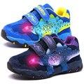 DINOSOLES/детская обувь для мальчиков; Детские кроссовки с подсветкой; Leahter 3D; светодиодный динозавр; кроссовки для больших мальчиков; коллекция ...