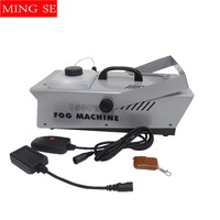 Fog Machine 1500W Wireless Remote Control Smoke Machine Stage Smoke Ejector Professional Stage Equipment