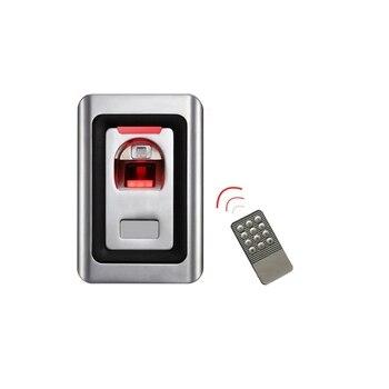 Stainless Steel Waterproof Metal Biometric Fingerprint Access Control System With IR Remote Control+ 120 Fingerprint