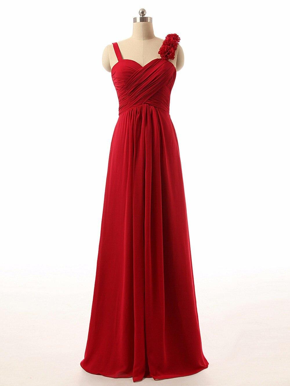 2018 chiffon pink / champagne   dress     bridesmaid     dress   hot long   dress   US 4-6-8-10-12-14-16-14