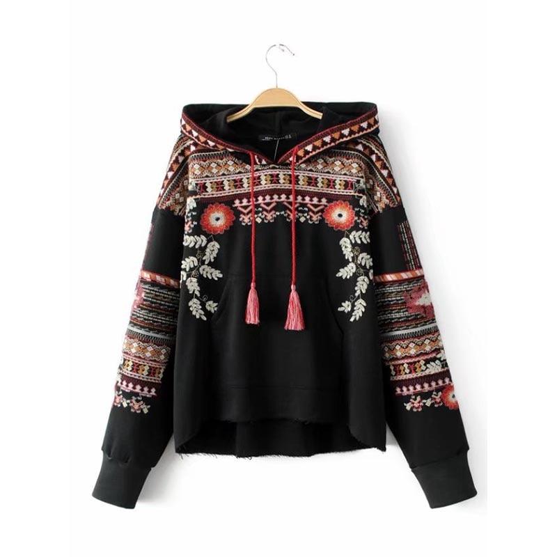 Aliexpress buy women chic vintage ethnic hoodie