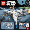 Nuevo 679 unids Lepin 05054 figureblock Genuino Serie Star Rebeldes U-Ala de Combate Juego de Bloques de Construcción Ladrillos juguetes 75155