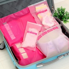 Transparent Waterproof Outdoor Draw Pocket Travel Accessories Portable Luggage Storage Organizer Makeup Cosmetic Coins Keys Bags