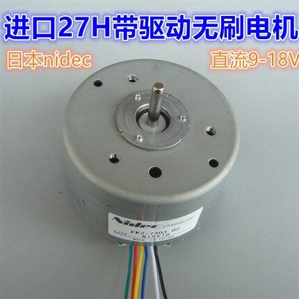 12V Japan nidec built in drive brushless motor 27H low speed high torque brushless motor 9 18V in DC Motor from Home Improvement