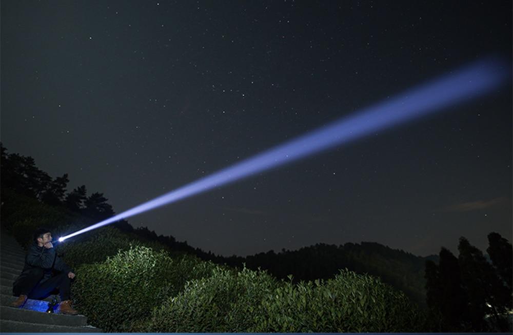 90000 Lumens XHP70.2 Most Powerful Flashlight