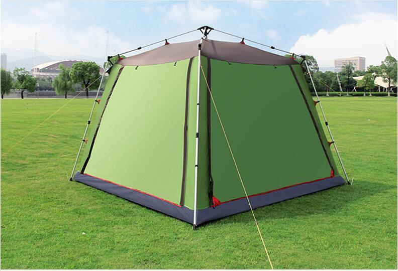 Extérieur automatique 5-8 personne pêche chasse tente parc loisirs Pergola Camping tente étanche 3000mm