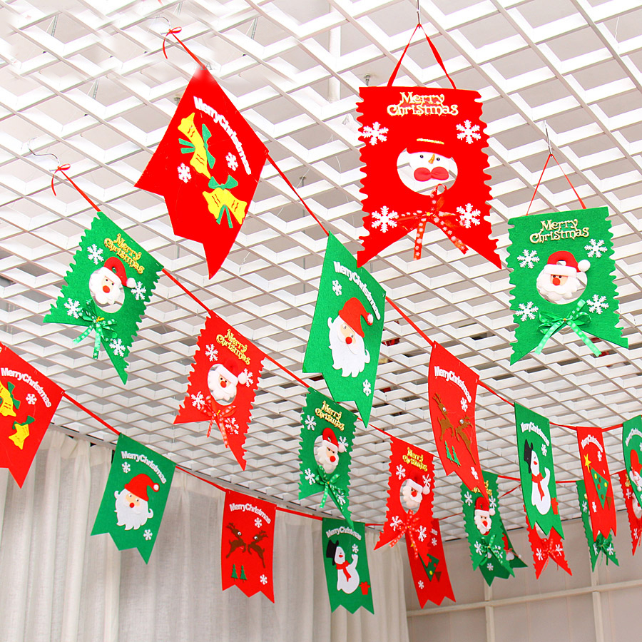 Buy christmas flag decoration christmas for Christmas decoration suppliers