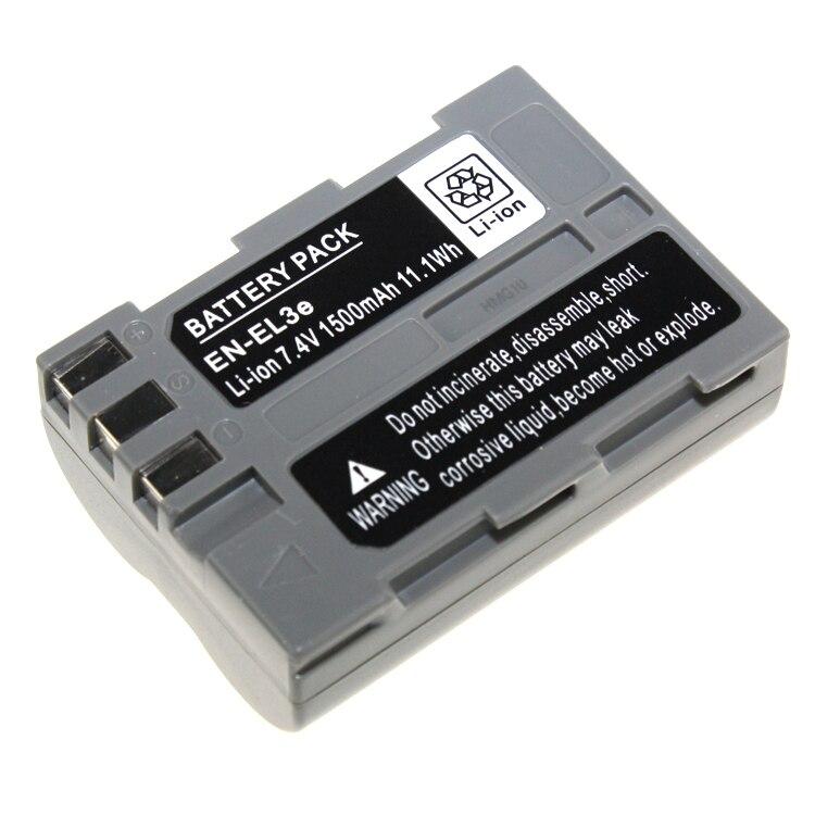 Di alta Qualità EN-El3e EN El3e ENEL3e Sostituzione Batteria Per Nikon D300S D300 D100 D200 D700 D70S D80 D90 D50