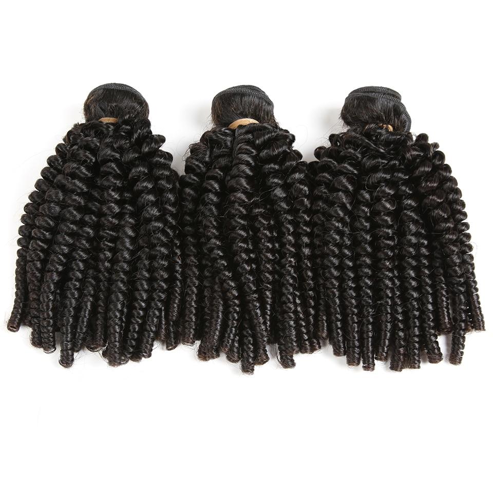 Karizma Mongolian Kinky Curly Hair 3 Bundles Hair Extension Non Remy Human Hair Weaving Bundles Machine