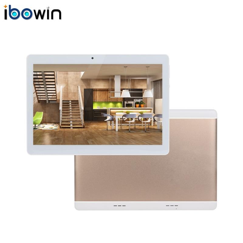 Prix pour Ibowin 10.1 Pouces Android 5.1OS Quad core 3G Appel Téléphonique Tablette 1280x800 IPS 1G RAM 16G ROM 3G WCDMA 2G GSM Appel GPS Bluetooth M130