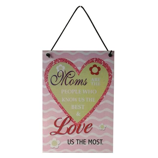 mum wood sign mother s day gift mom birthday gift decorative hanging