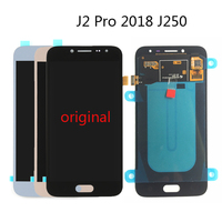 Original AMOLED OLED TFT Lcd For Samsung Galaxy J2 Pro 2018 J250 SM J250F/DS LCD display Touch screen digitizer Assembly