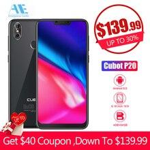 Cubot P20 6.18 ''19:9 Notch Ekran 4 GB 64 GB MT6750T Octa Çekirdekli Smartphone Android 8.0 4000 mAh 2246*1080 20MP + 2.0MP 4G T...
