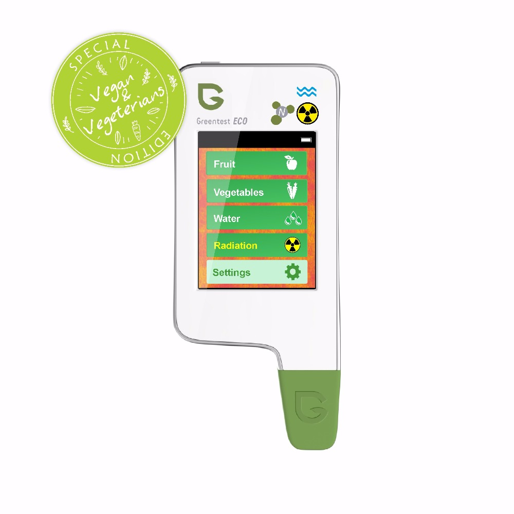 Greentest ECO-V 5 The unique portable 3-in-1 nitrate, water hardness and radiation detector.