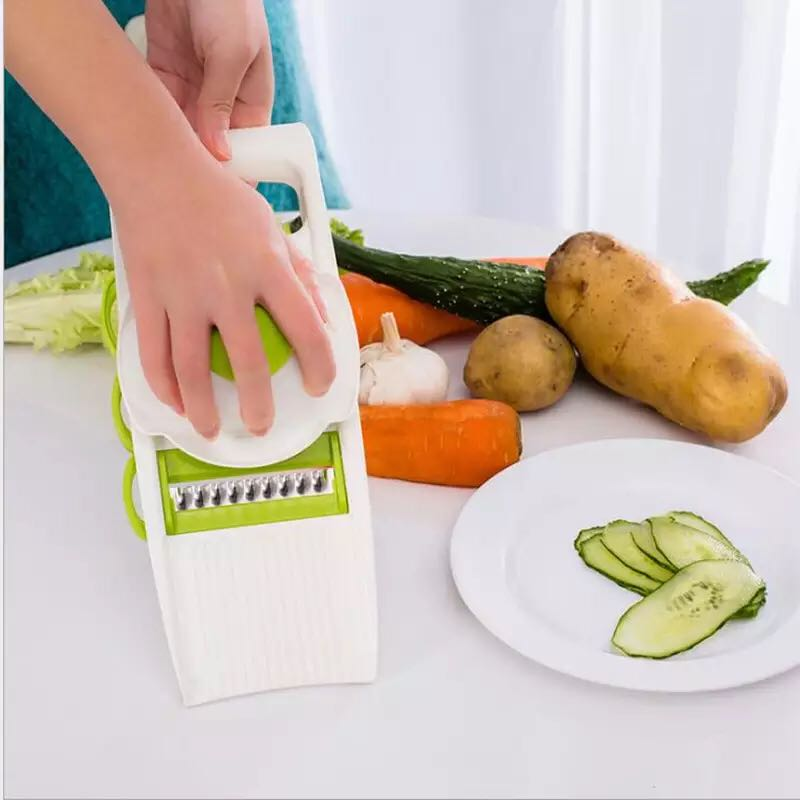 Manual Vegetable Cutter Stainless Steel   Slicer Potato Cutter Carrot Grater Julienne Fruit Peeler Tools Kitchen Accessories
