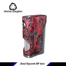 Arctic dolphin Soul стабилизированный деревянный Squonk Mod одиночный 18650 батарея Squonker электронная сигарета 7,0 мл Squonk бутылка