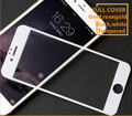9H 3D Full cover Screen Protector Tempered Glass Film for iphone6 6s plus tempered glass white color