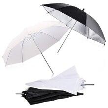 New 2pcs 33inch 83cm Flash Translucent White Soft Umbrella Photo Studio Accessories and 2pcs 33inch Black Silver Color Umbrella 2pcs aduc7027bstz62 lqfp80 new