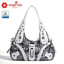 Angel Kiss Red Casual Handbags for Women Roomy Multi Pockets Single Shoulder Bags Totes AK11282