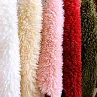 Thick curled wool fur,felt fabric,faux fur fabric,Background decoration materials, shoes accessories,160cm*45cm(half yard)/pcs