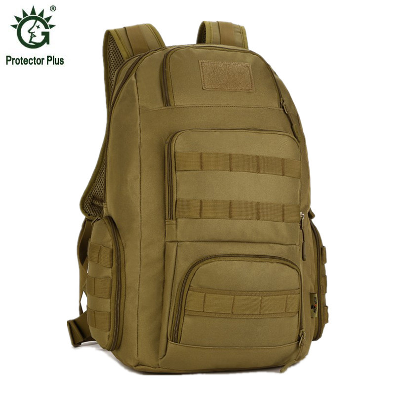 40L Men's Women Military Backpack Waterproof Nylon Fashion Male Laptop Back Bag Female Travel Rucksack Camouflage Army Hike Bags 30l men women military backpacks waterproof fashion male laptop backpack casual female travel rucksack camouflage army bag
