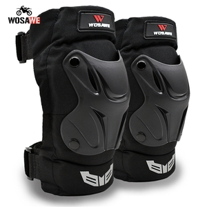 Image 2 - WOSAWE Motorcycle Elbow Pads and Knee Pads Adult Snowboard Volleyball Cycling Hockey Pads Arm Guard Protective Armor Gear