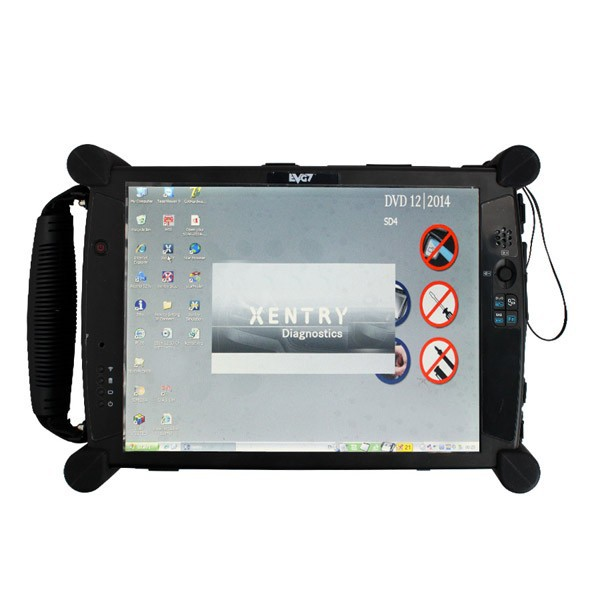 Hot selling EVG7 DL46/HDD500GB/DDR2/ 4/ 8GB Diagnostic Controller Tablet PC (Can works with BMW ICOM)