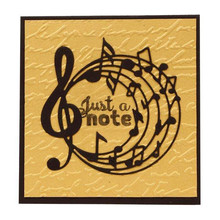 где купить YaMinSanNiO Music Notes Clef Metal Cutting Dies for Scrapbooking New 20119 Music Dies for Card Making Embossing Craft Die Cuts по лучшей цене