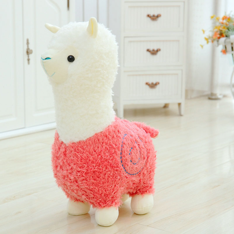 Cute 40cm მულტფილმი Alpaca Plush - პლუშები სათამაშოები - ფოტო 4