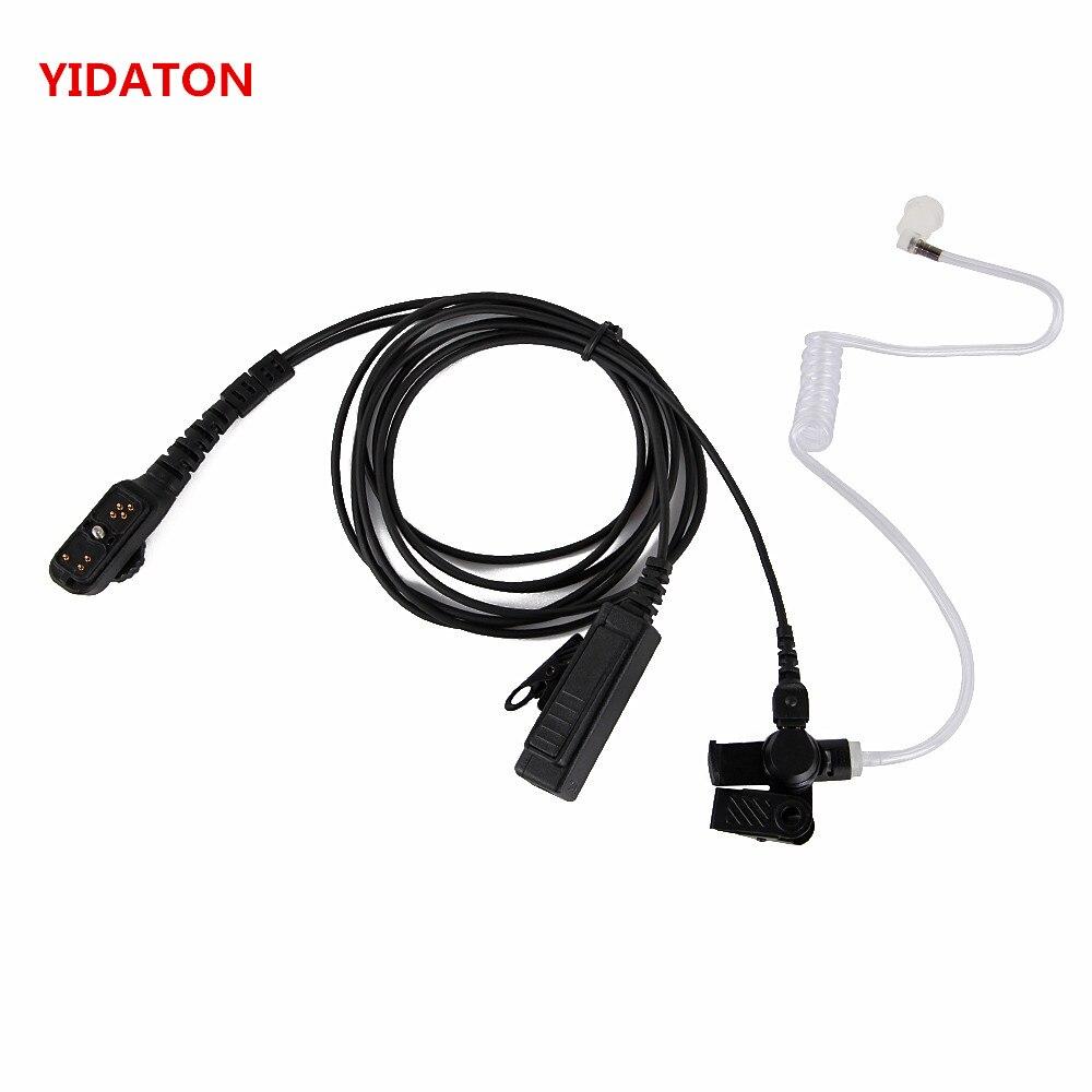 YIDATON For Hytera HYT PD780 Walkie Talkie Headset Earpiece Mic PD700 PD700G PD702G PD705G PD752 PD782 PD785 PD785G PT580H Radio