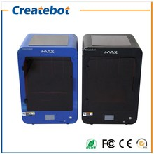 Createbot 3D Printer Dual Extruder MAX 3d printer kit Two-Color Printing High Resolution Impressora 3d With Free shipping