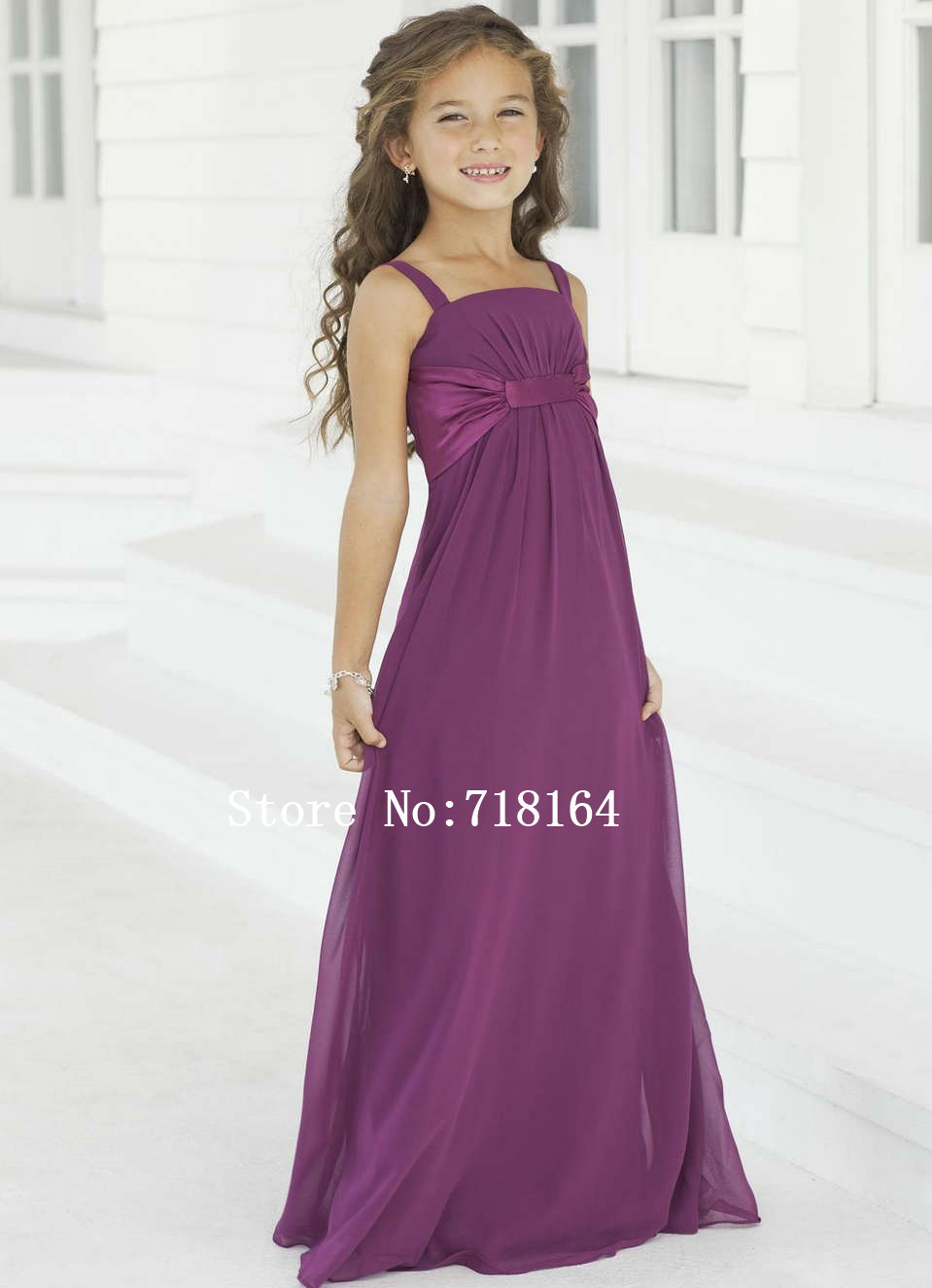 Girls Bridesmaid Dress - Wedding Dress Ideas