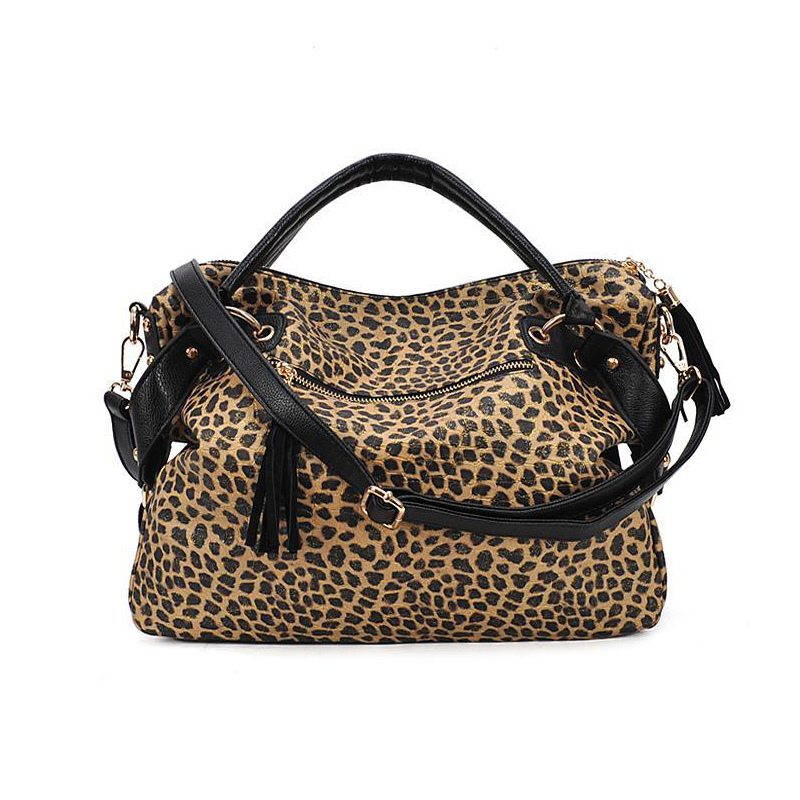 Women Famous Brand Handbags 2018 Leopard Bag Paillette Shoulder Messenger Tote Las In Crossbody Bags From Luggage On