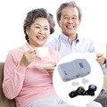 2015 Novo Melhor Amplificador de Som Tom Ajustável Na Audição do Ouvido ajudas aparelho auditivo Aparelhos Auditivos digitais Ajuda para os idosos cuidados