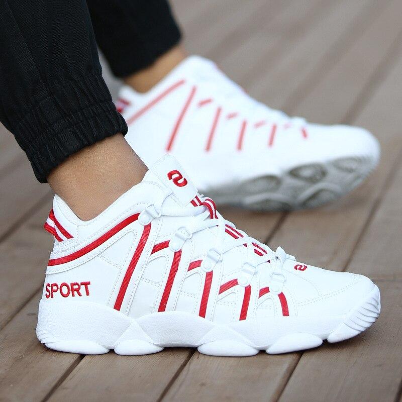 Где купить Новая брендовая Баскетбольная обувь для мужчин и женщин, высокая Спортивная амортизация Hombre, Спортивная мужская обувь, удобные черные кроссовки, большие размеры