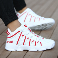 New Brand Basketball Shoes Men Women High top Sports Cushioning Hombre Athletic Mens Shoes Comfortable Black Sneakers Plus Size