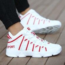 Yeni marka basketbol ayakkabıları erkekler kadınlar yüksek top spor yastıklama Hombre atletik erkek ayakkabısı rahat siyah Sneakers zapatillas