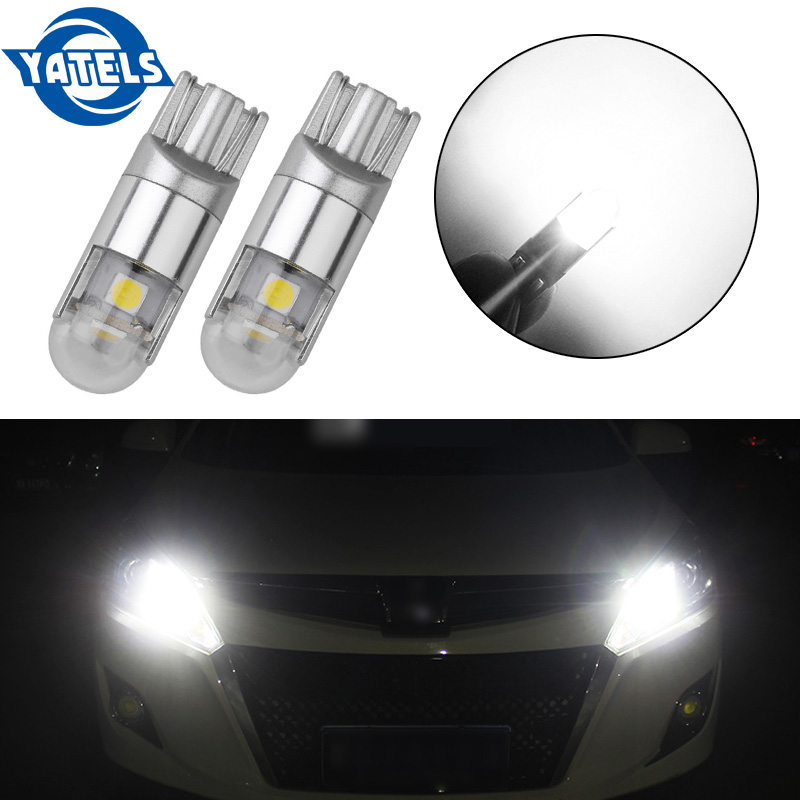 2pcs 2018 High Quality New T10 3030 3SMD Car Led Clearance Lamp 3LED 9W Door Light Low Polarity Universal 6000-6500K 12-24V