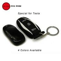 1 шт. силиконовой резины автомобиль ключ чехол Карманный Высокое качество специально для Тесла модель s ключ чехол