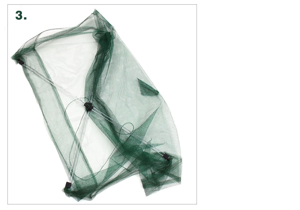 BlueSardine גודל גדול רשת דייגים דגים ניילון רשת דגים נטו שרימפס רשת דיג