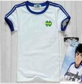 Asia size ! Camiseta Shirts oliver atom equipe de Japan france, Captain Tsubasa Jerseys,ATOM football cotton white Men's clothes - DISCOUNT ITEM  0% OFF All Category