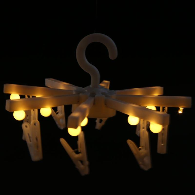 Clothes Stand Tree Light Hanger Lamp Warm White Candy Color Led Photo Memos Clips Light Children Bedroom Decor Night Light