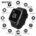 SANDA K02, женские Смарт-часы, помощник по жизни, напоминание, цифровые наручные часы, ответ на вызов, пульсометр, кровяное давление, кислород