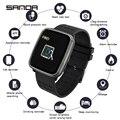 SANDA K02 Frauen Smart Leben Assistent Rufen Erinnerung Digitale Armbanduhren Antwort Anruf Herz Rate Monitor Blutdruck Sauerstoff