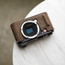 Mr. stone бренд из натуральной кожи ручной работы чехол для камеры Сумка для Leica CL половина тела Нижняя крышка