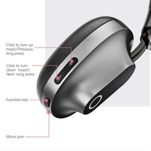 Image 3 - Baseus D01Wireless Bluetooth Auricolare Cuffie con Il Mic Per I Telefoni di Computer Con Microfono Gaming Headset Stereo bluetooth auricolare