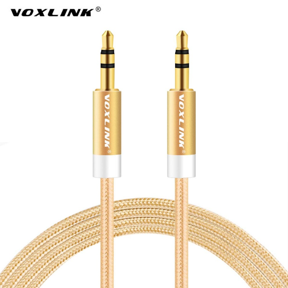 online get cheap mp3 aux jack aliexpress com alibaba group Aux Cable To Speaker Wire voxlink 3 5mm jack aux cable for iphone 6 samsung mp3 3 5mm car audio cable wire colorful nylon headphone beats speaker aux cord aux cable to speaker wire
