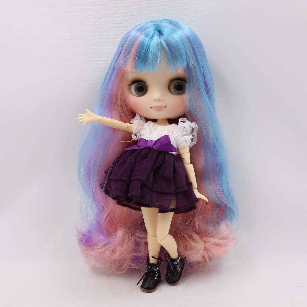 Middie Blythe Doll with Multi-Color Hair, Tilting-Head & Jointed Body 1