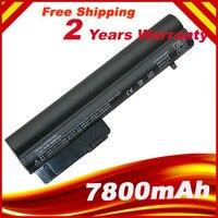 6600mAh batería de la batería para HP COMPAQ 2533t EliteBook 2530p 2540p cuaderno de negocios 2510p nc2400 HSTNN XB22 HSTNN XB23 RW556AA battery for hp for hp hp battery -
