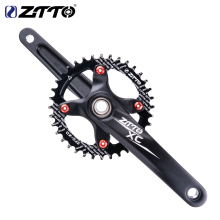 ZTTO MTB Bicycle BCD 104 Crankset 170mm Crank 1X System Chainwheel Single Chainring Narrow Wide  For 1*11 1*10 Mountain  Bike 2017 new ultra light carbon fiber bicycle crank mtb road bike crankset mountain bike crank length 170mm 175mm bcd 104mm